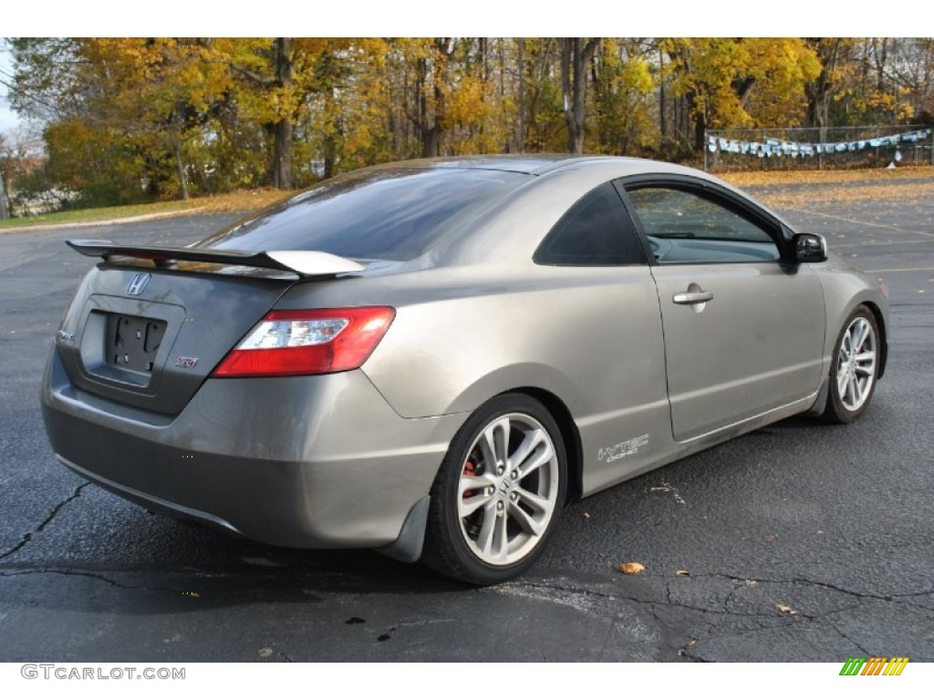 galaxy gray metallic 2007 honda civic si coupe exterior photo 73789596. Black Bedroom Furniture Sets. Home Design Ideas