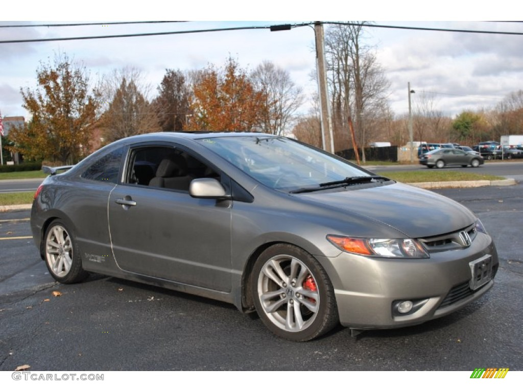 galaxy gray metallic 2007 honda civic si coupe exterior photo 73789610. Black Bedroom Furniture Sets. Home Design Ideas