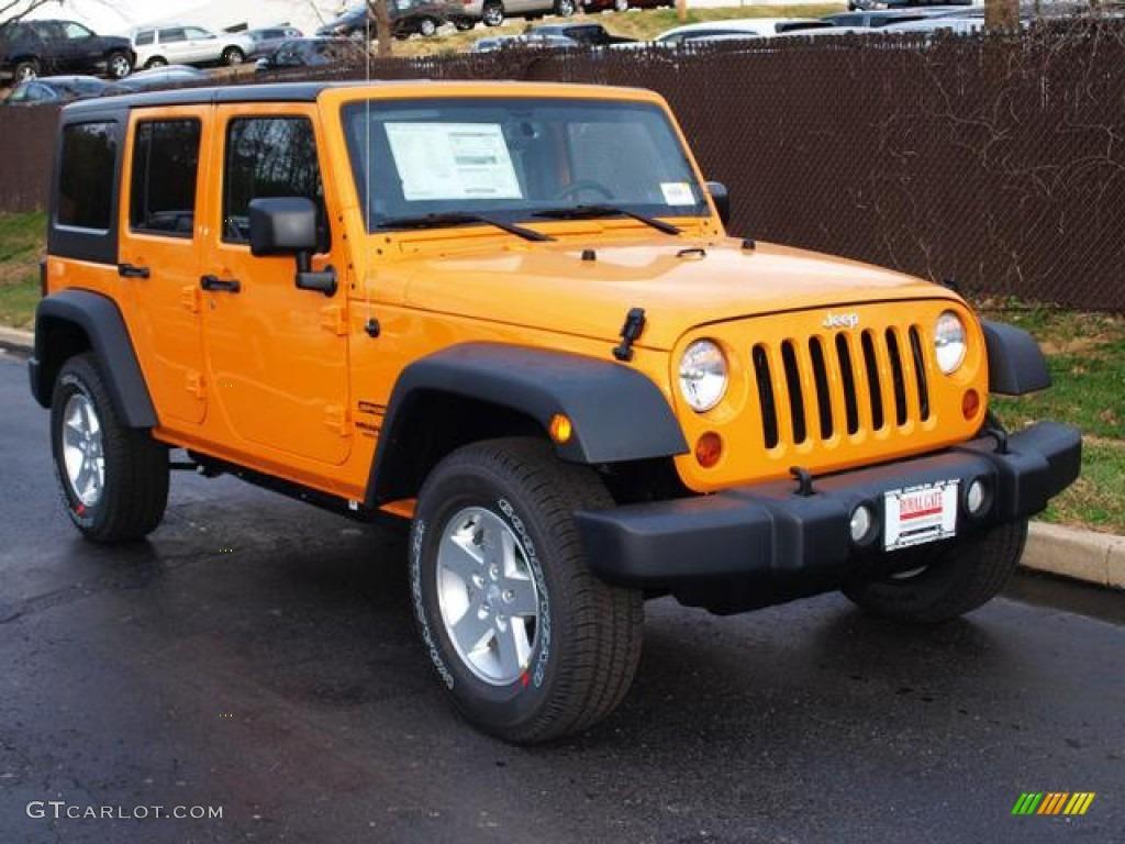 Yellow Jeep Wrangler Unlimited 2015 Jeep Wrangler Rubicon