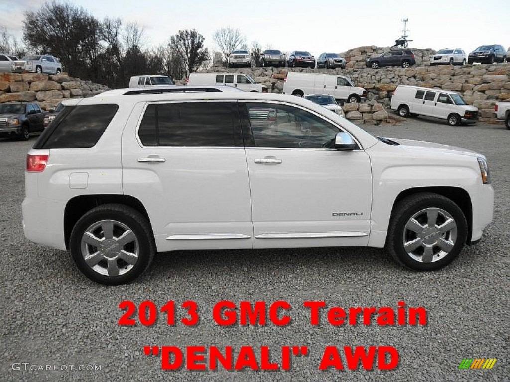 2013 summit white gmc terrain denali awd 73751114 car color galleries. Black Bedroom Furniture Sets. Home Design Ideas