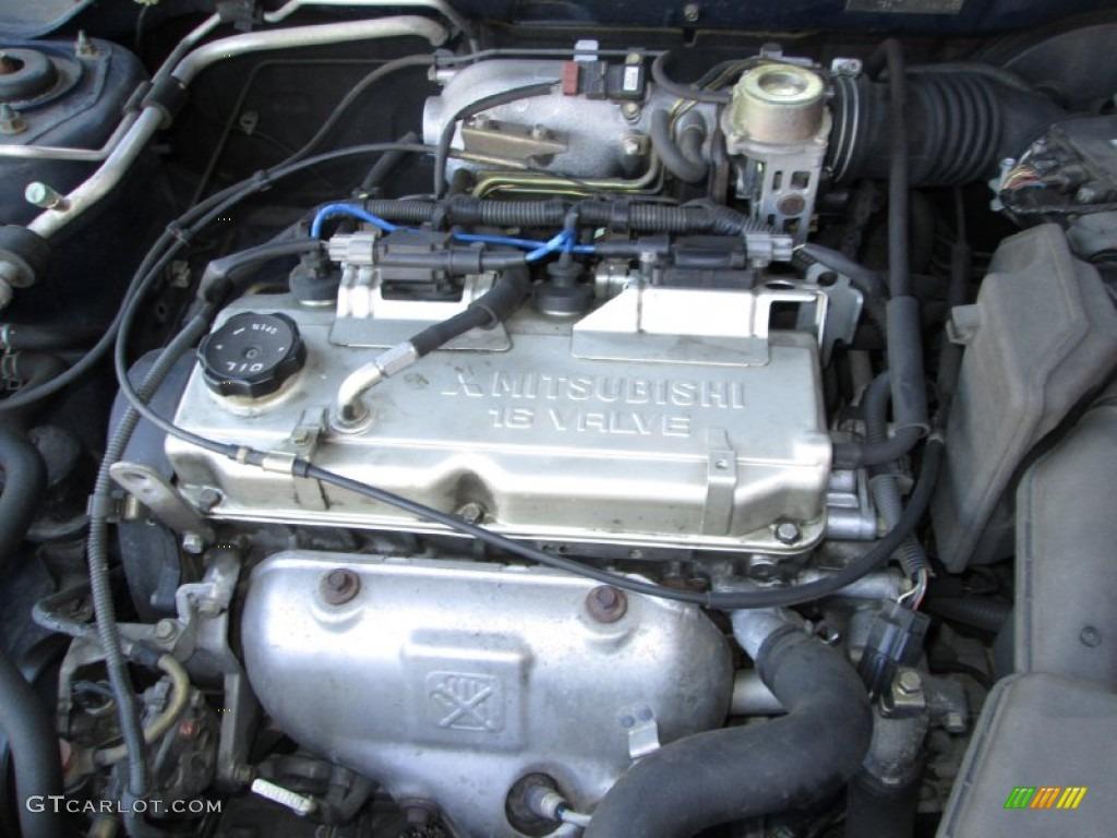 2003 Mitsubishi Lancer LS Engine Photos   GTCarLot.com