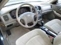 Beige 2005 Hyundai Sonata Interiors