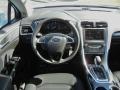2013 Oxford White Ford Fusion Hybrid SE  photo #8