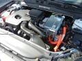 2013 Oxford White Ford Fusion Hybrid SE  photo #12