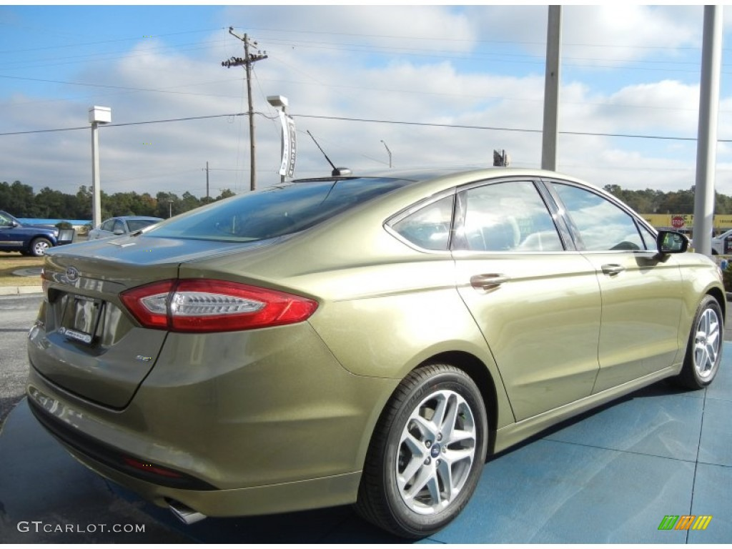 Ginger Ale Metallic 2013 Ford Fusion Se Exterior Photo 73810982