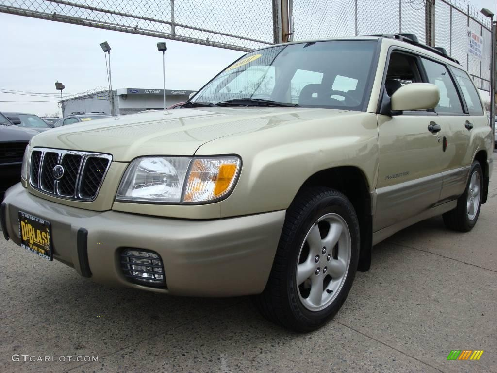 2001 sierra gold metallic subaru forester 2 5 s 7351883 gtcarlot com car color galleries gtcarlot com