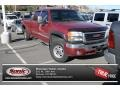 2006 Sport Red Metallic GMC Sierra 2500HD SLT Crew Cab 4x4 #73808318