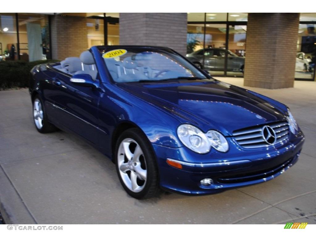 2004 orion blue metallic mercedes benz clk 320 cabriolet for Blue mercedes benz