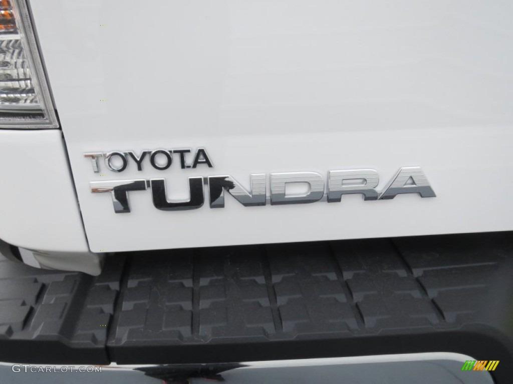 2013 Tundra CrewMax - Super White / Graphite photo #14