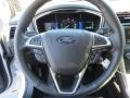 Charcoal Black Steering Wheel Photo for 2013 Ford Fusion #73830362