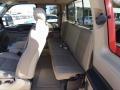 2005 Ford F250 Super Duty Tan Interior Rear Seat Photo