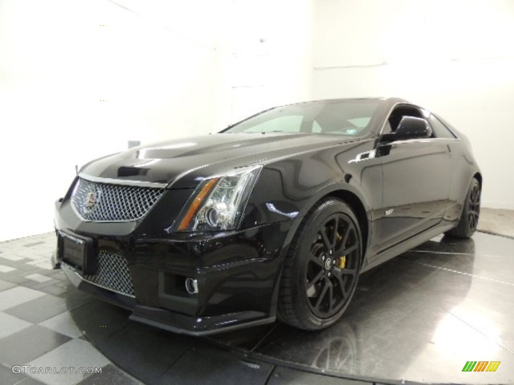 black diamond tricoat 2012 cadillac cts v coupe exterior photo 73841033. Black Bedroom Furniture Sets. Home Design Ideas