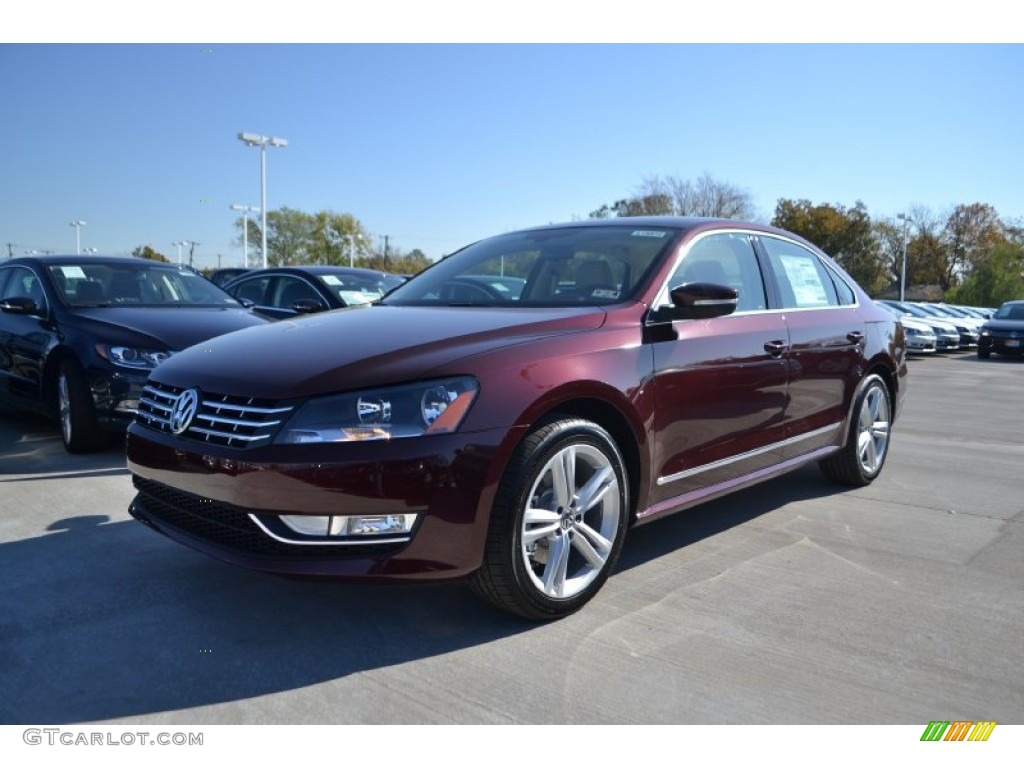 2013 opera red metallic volkswagen passat tdi se 73808810 car color galleries. Black Bedroom Furniture Sets. Home Design Ideas