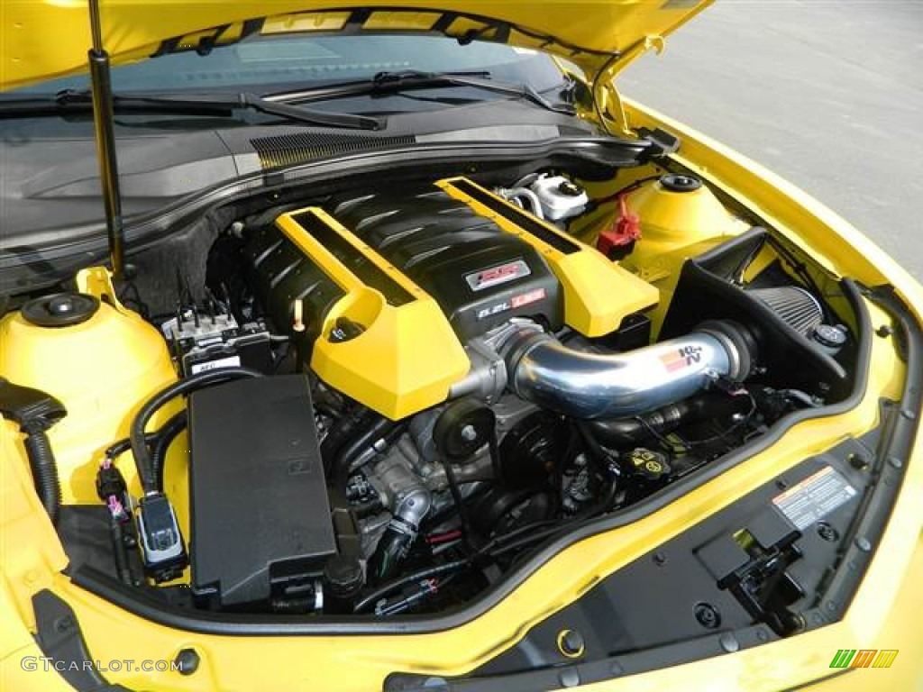 2010 Chevrolet Camaro Ss Coupe Transformers Special Edition 6 2 Liter Ohv 16 Valve V8 Engine