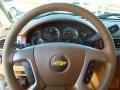 Light Cashmere/Dark Cashmere Steering Wheel Photo for 2013 Chevrolet Silverado 1500 #73850527