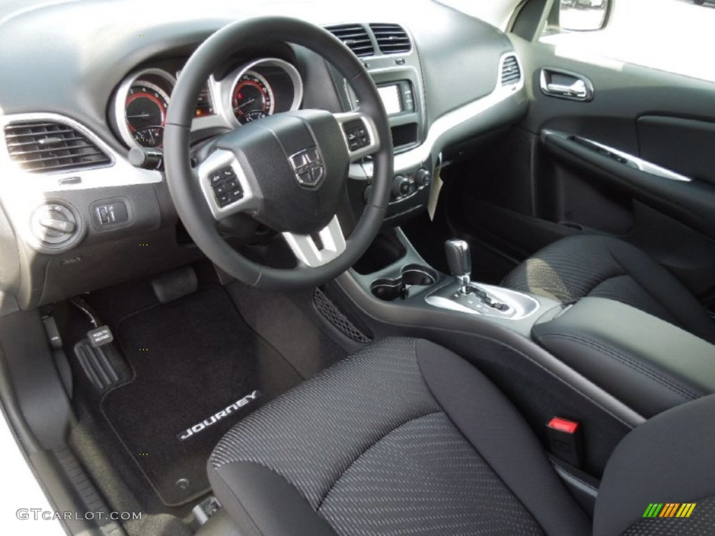 Black Interior 2013 Dodge Journey Sxt Photo 73861790