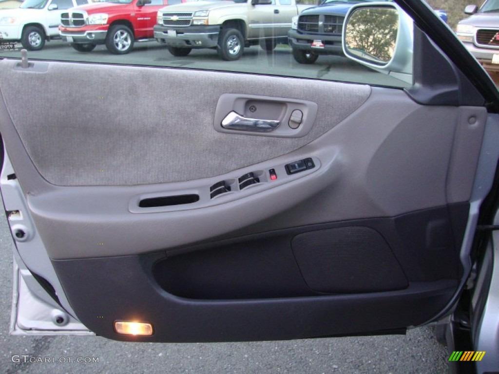 2002 Honda Accord Lx Sedan Quartz Gray Door Panel Photo 73886069