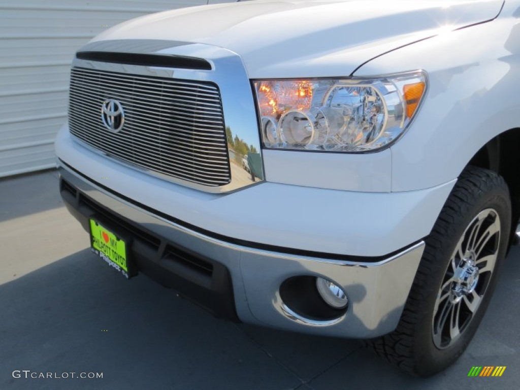 2013 Tundra Texas Edition CrewMax 4x4 - Super White / Graphite photo #9