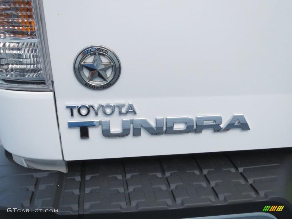 2013 Tundra Texas Edition CrewMax 4x4 - Super White / Graphite photo #16
