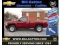2013 Deep Ruby Metallic Chevrolet Silverado 1500 Work Truck Regular Cab 4x4  photo #1