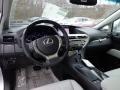 Light Gray/Ebony Birds Eye Maple 2013 Lexus RX Interiors