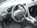 Charcoal Black Dashboard Photo for 2013 Ford Fusion #73898798
