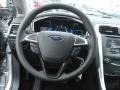 Charcoal Black Steering Wheel Photo for 2013 Ford Fusion #73898890