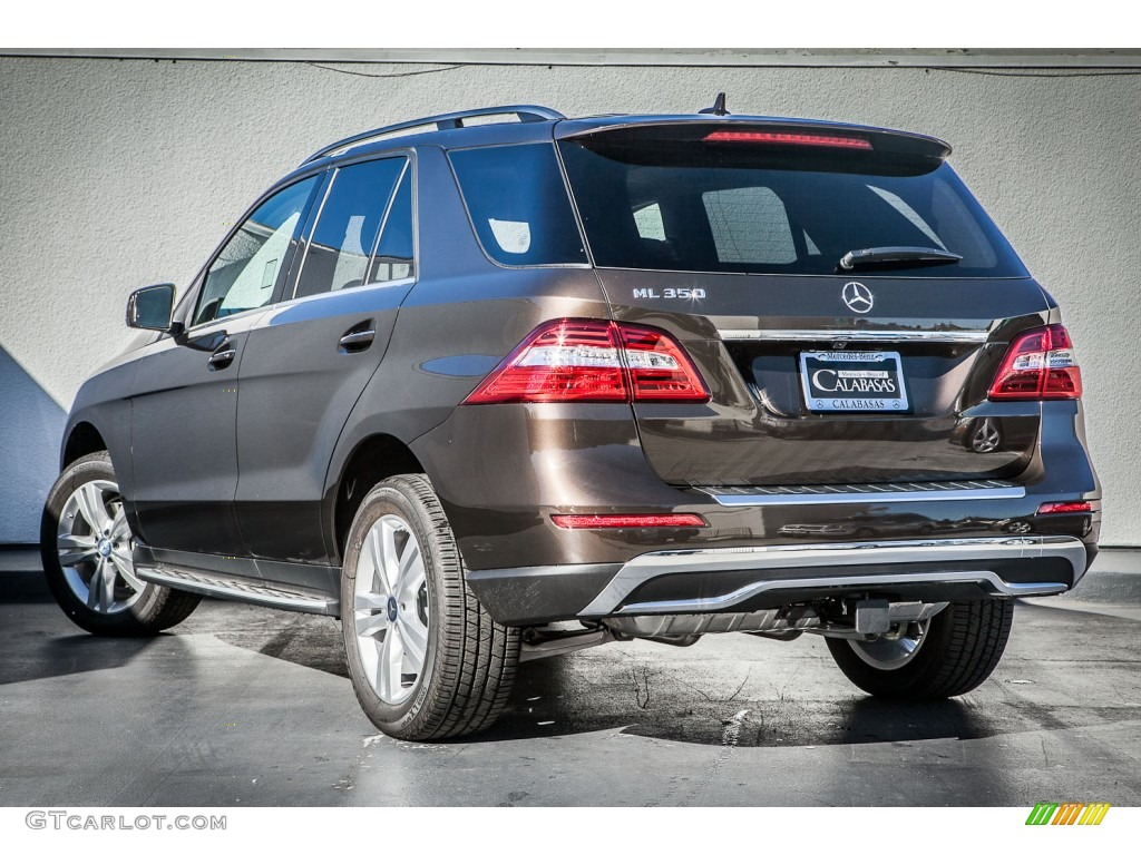 2013 dakota brown metallic mercedes benz ml 350 4matic for Mercedes benz 350 ml 2013