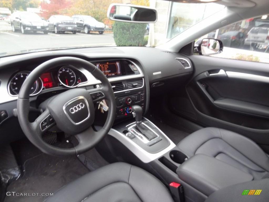 Black Interior 2011 Audi A5 2 0t Quattro Coupe Photo 73926923