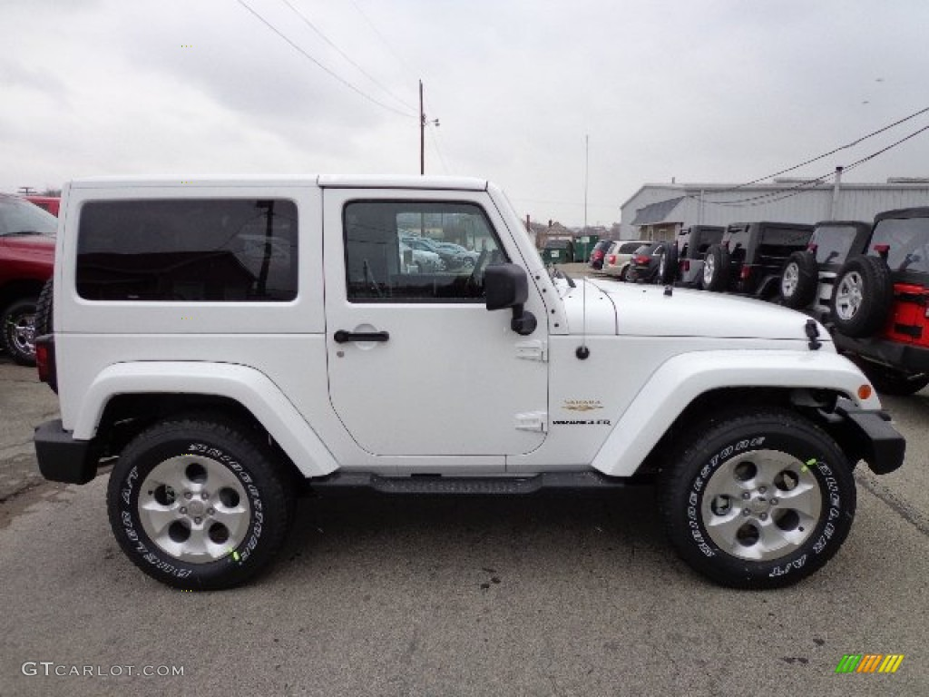 bright white 2013 jeep wrangler sahara 4x4 exterior photo 73928634. Black Bedroom Furniture Sets. Home Design Ideas