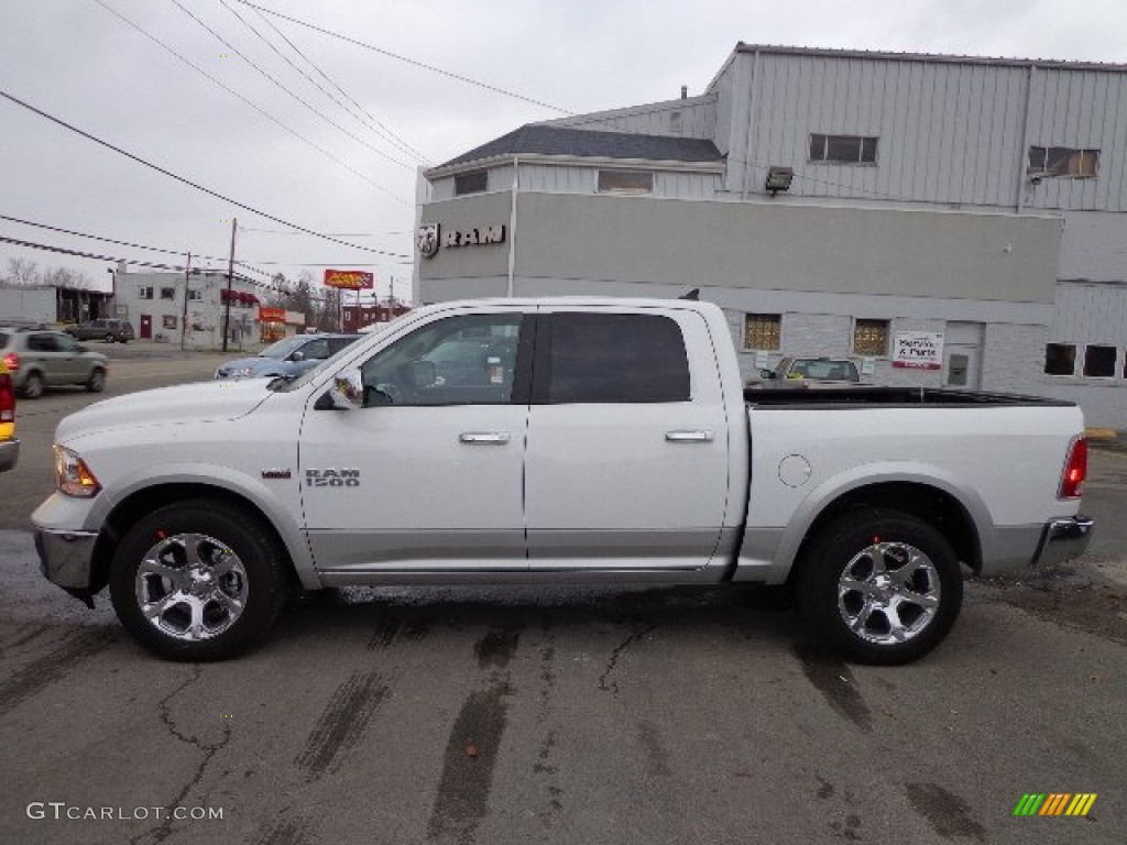 2013 bright white ram 1500 laramie crew cab 4x4 73927782 photo 2 car color. Black Bedroom Furniture Sets. Home Design Ideas
