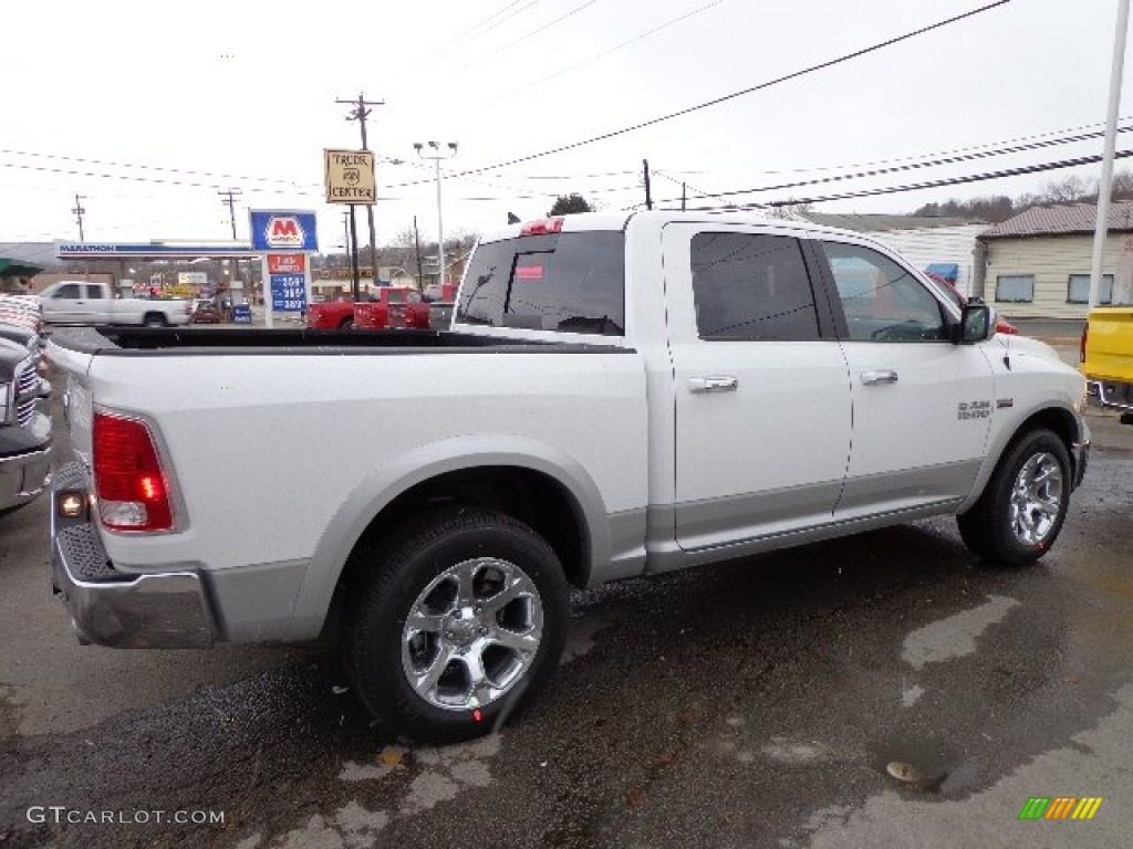2013 bright white ram 1500 laramie crew cab 4x4 73927782 photo 5 car color. Black Bedroom Furniture Sets. Home Design Ideas