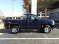 2011 Imperial Blue Metallic Chevrolet Silverado 1500 LT Regular Cab 4x4  photo #6