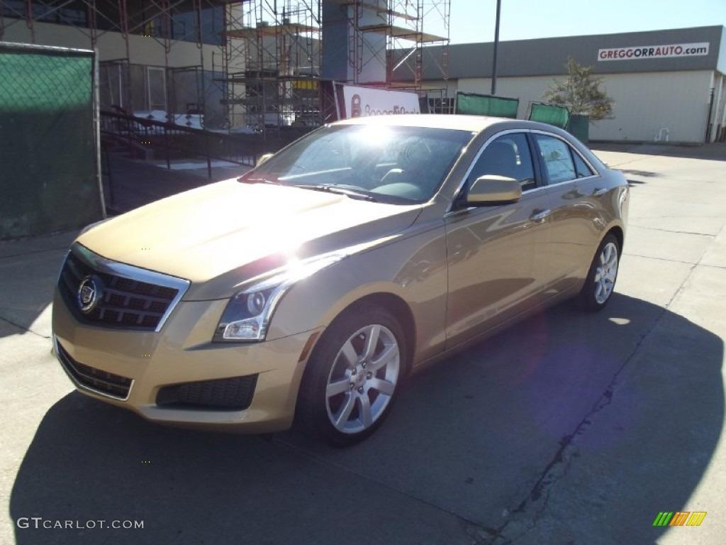 2013 Summer Gold Metallic Cadillac Ats 2 5l 73927821 Car Color Galleries