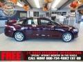 2013 Bordeaux Reserve Red Metallic Ford Fusion SE  photo #1