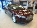 2013 Bordeaux Reserve Red Metallic Ford Fusion SE  photo #2