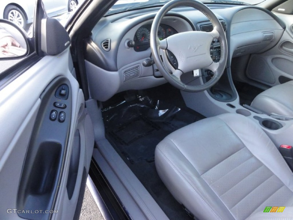 Medium Parchment Interior 2001 Ford Mustang Gt Coupe Photo 73946555