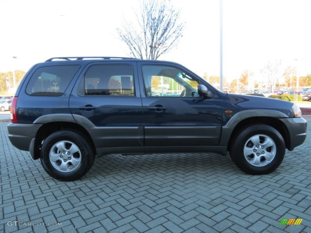 calypso blue metallic 2004 mazda tribute lx v6 exterior. Black Bedroom Furniture Sets. Home Design Ideas