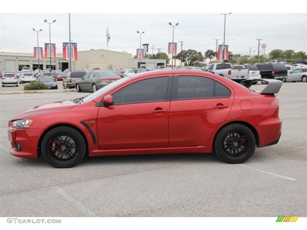 red metallic lancer ex 2008 rally red metallic mitsubishi lancer evolution gsr  #11