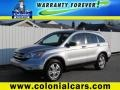 2010 Alabaster Silver Metallic Honda CR-V EX AWD  photo #1