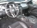 Charcoal Black 2011 Ford Mustang Interiors