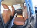 Rear Seat of 2013 1500 Laramie Longhorn Crew Cab 4x4