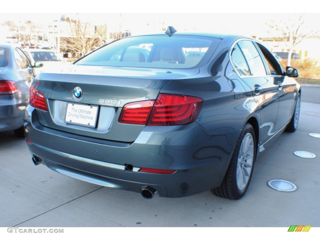 2012 tasman green metallic bmw 5 series 535i xdrive sedan. Black Bedroom Furniture Sets. Home Design Ideas