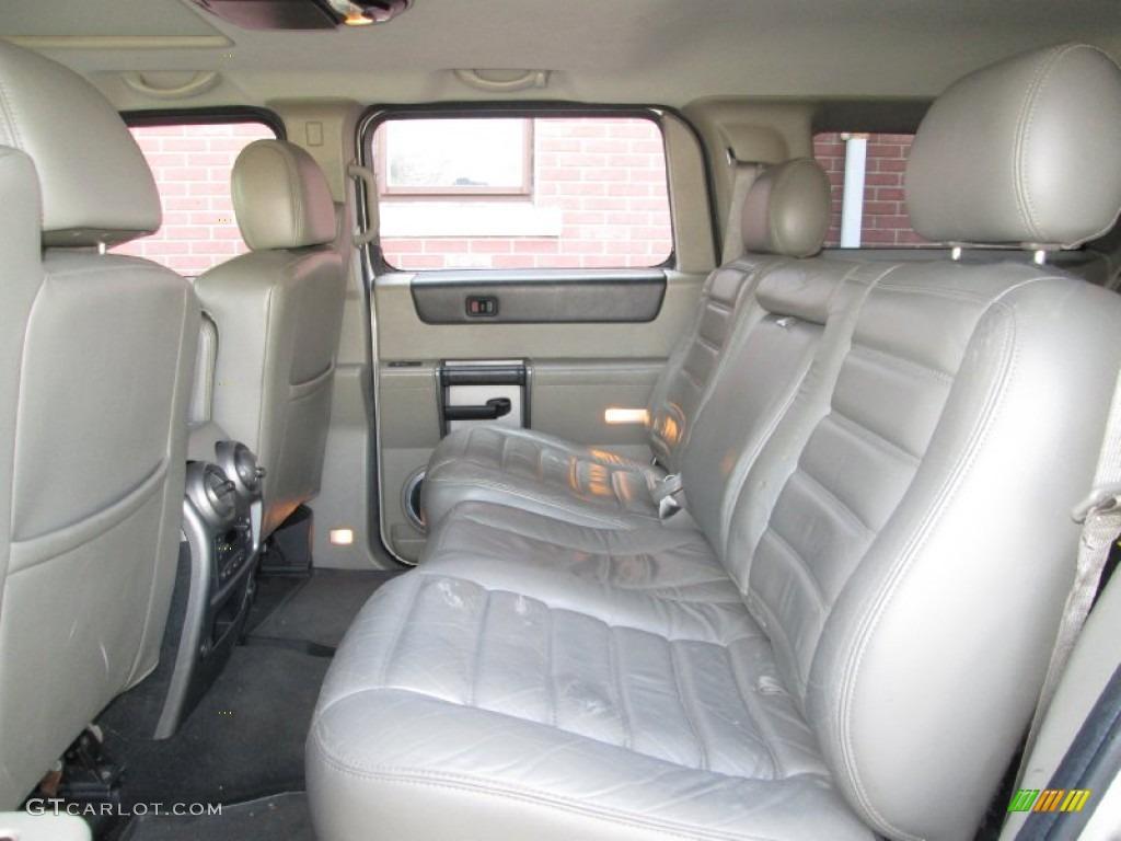 Wheat Interior 2003 Hummer H2 Suv Photo 73961159