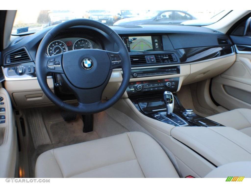 Venetian beige interior 2012 bmw 5 series 535i xdrive sedan photo 73961195