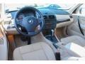 2008 BMW X3 Beige Interior Prime Interior Photo