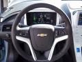 Jet Black/Ceramic White Accents Steering Wheel Photo for 2013 Chevrolet Volt #73962992