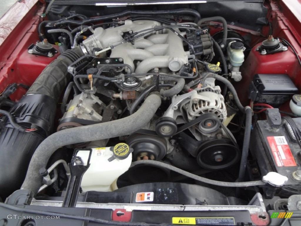 2004 Ford Mustang V6 Coupe 3 8 Liter Ohv 12 Valve V6