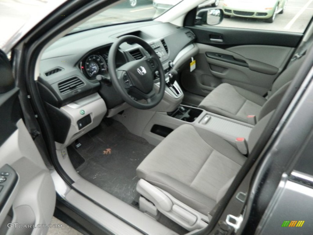 Gray interior 2013 honda cr v lx photo 73970249 for Honda cr v 2013 interior