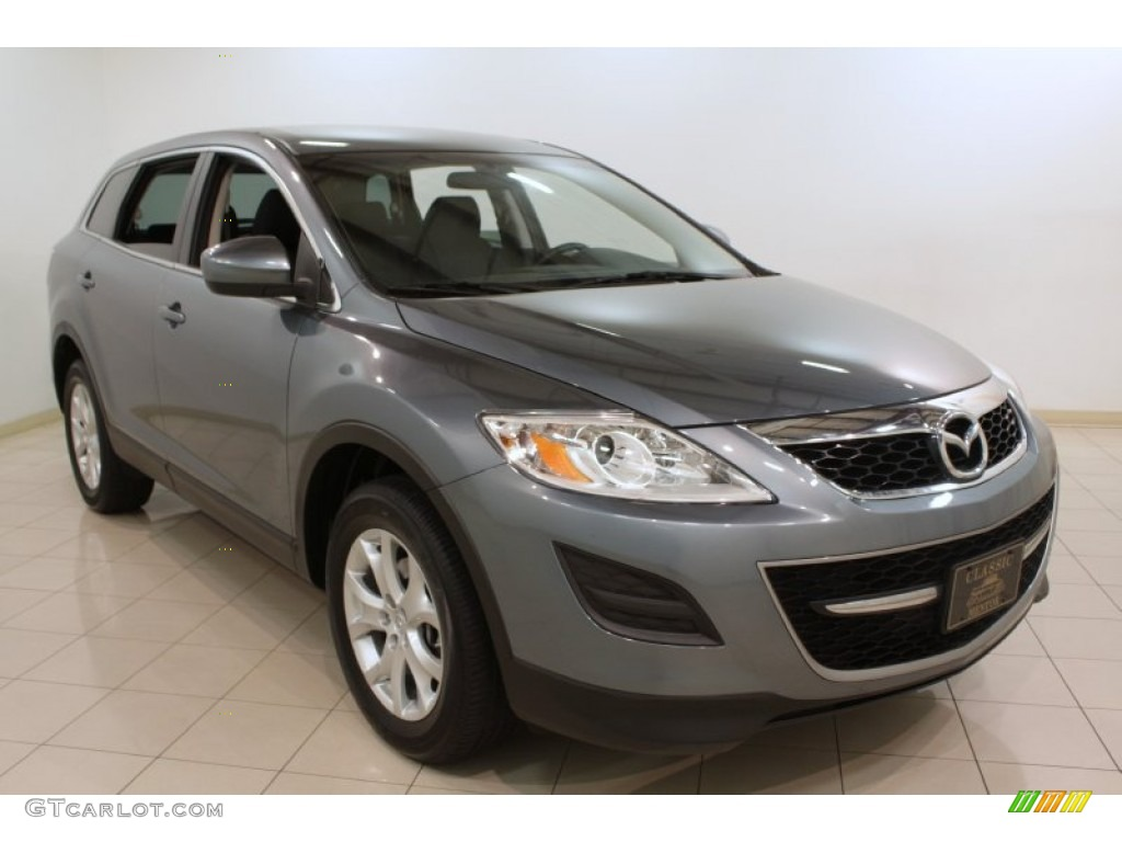 2011 dolphin gray mica mazda cx 9 sport awd 73934958. Black Bedroom Furniture Sets. Home Design Ideas